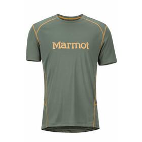 Marmot Windridge t-shirt Heren with Graphic olijf